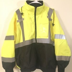 Hi-Vis Radians reflective jacket (ANSI/ISEA rated)